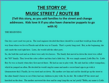 MUSIC STREET -Route 88: Teaching solfedge Pitch by Pitch