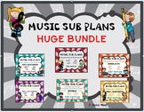 MUSIC SUB PLANS Huge Bundle NEW!!!