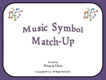 Music Symbol Match-Up