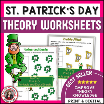 St Patrick's Day Music Worksheets