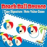 MUSIC: Summer Themed Beach Ball 4/4 Time Signature Activity