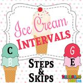 MUSIC: Summer Themed Ice Cream Cone Intervals Steps Skips