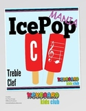 MUSIC: Summer Themed Treble Clef Note Naming Activity