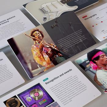 MUSIC: THE JIMI HENDRIX EXPERIENCE [PowerPoint] w/ Quiz & Audio