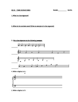 MUSIC THEORY: Articulations & Time Signatures