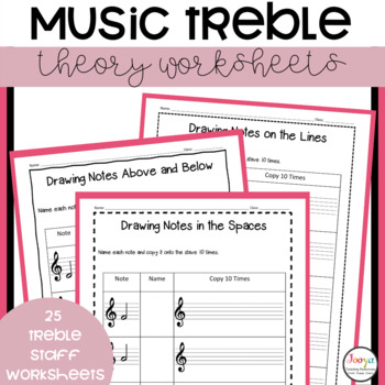 25 Pitch Music Theory Workbook
