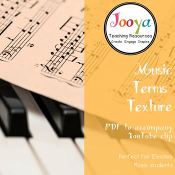 MUSIC: Texture