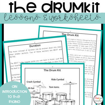 MUSIC- The Drum Kit Mini Unit of Work for Middle School Students