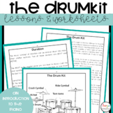 Drum Kit Lessons and Worksheets