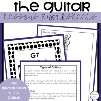 MUSIC - The Guitar A Unit of Work for Middle School Students
