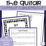 Guitar Worksheets and Lessons