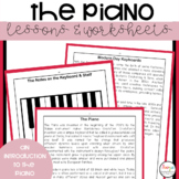 Piano Worksheets and Lessons