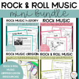 Rock Music Lessons and Worksheets Mini Bundle