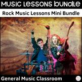 Rock Music Lessons & Worksheets Mini Bundle