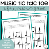 Music Tic, Tac, Toe Classroom Game