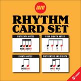 MUSIC VISUALS Rhythm Cards Set