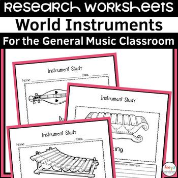 MUSIC- World Music Instrument Study