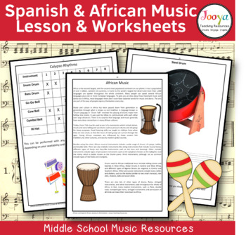 MUSIC: World Music - The Spanish & African Influence
