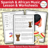 World Music Lessons & Worksheets