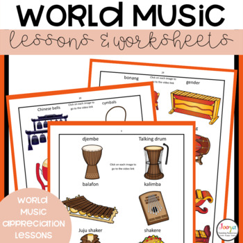 MUSIC - World Music Unit of Work with Super Six Reading Strategies