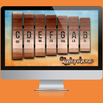 MUSIC: Xylophone Interactive Chart [Click & Play]