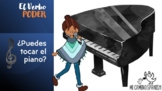 MUSIC in Spanish & the verb PODER! ¿Puedes tocar? (PPT Pre