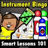MUSICAL INSTRUMENT BINGO Music Game | Instruments of the O