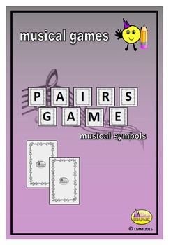 MUSICAL PAIRS GAME