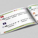 MUSIC: Rhythm Jams for the Music Classroom - Interactive eBook with Flash Cards