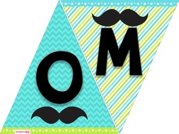 MUSTACHE MOUSTACHE Welcome Banner