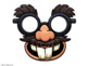 MUSTACHE SILLY MASKS Speech therapy APRIL FOOLS