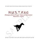 MUSTANG- Student organization binder