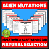 Mutations & Adaptations Lab - NGSS Middle School and High School Aligned