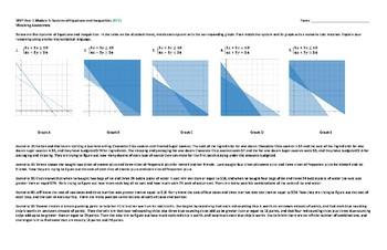MVP Course 1 - Module 5 Matching Assessment Answer Key