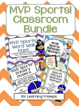 MVP Sports! Classroom Bundle I
