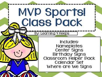 MVP Sports! Classroom Bundle II