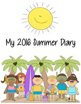 MY 2016 SUMMER DIARY