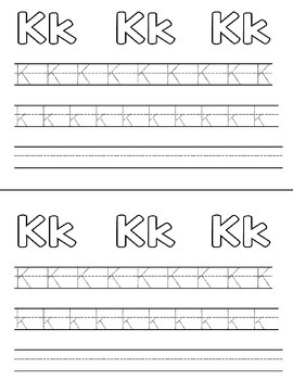 MY ABC BOOKLET  Color, Trace, Write Pre-K