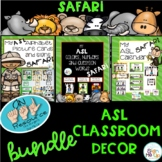 MY ASL Classroom SAFARI BUNDLE