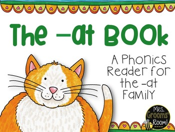 -AT BOOK:  A Phonics Reader
