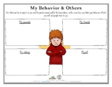 MY BEHAVIOR AND OTHERS (Fillable)