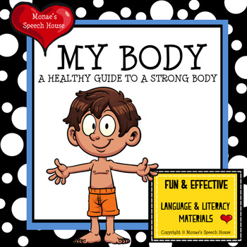 MY BODY Early Readers Speech Therapy