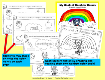 MY BOOK OF RAINBOW COLORS