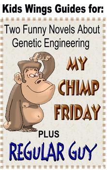MY CHIMP FRIDAY plus REGULAR GUY:  Fun with Genetics!
