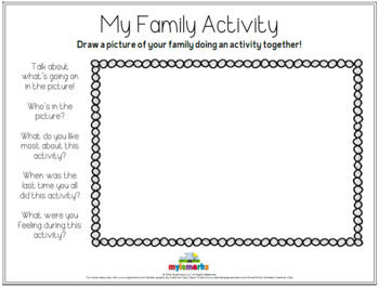 MY FAMILY ACTIVITY