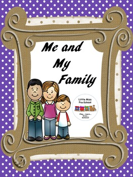 MY FAMILY Shape Rhymes Wall Decor & Worksheets