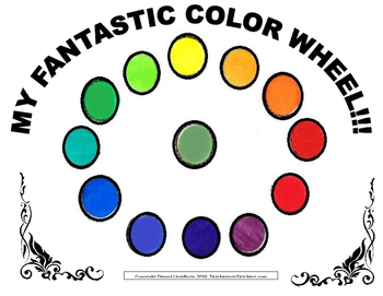 MY FANTASTIC COLOR WHEEL activity
