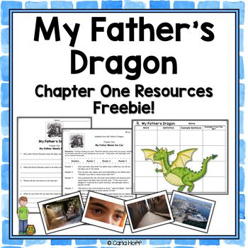 MY FATHER'S DRAGON - FREE Chapter One Resources