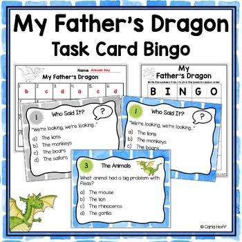 MY FATHER'S DRAGON - Task Card Fun!