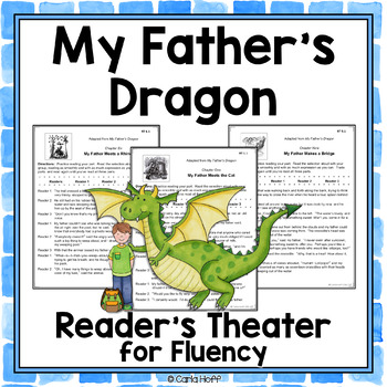MY FATHER'S DRAGON - Readers' Theater Scripts for Fluency Practice!